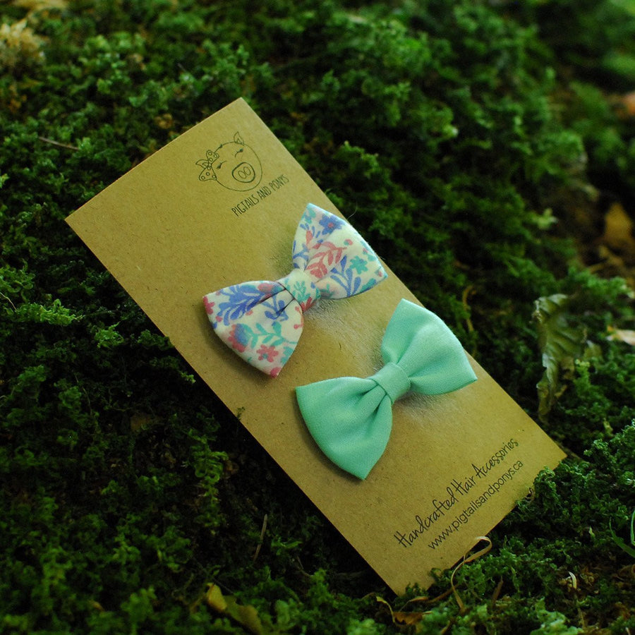 Spring - Pigtails and Ponys - Hair Clip - Handcrafted Accessories