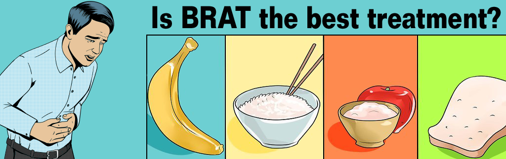 The best treatment for diarrhea isn't bananas or the BRAT diet!