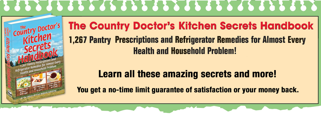 The Country Doctor's Kitchen Secrets Handbook - As seen in Parade!