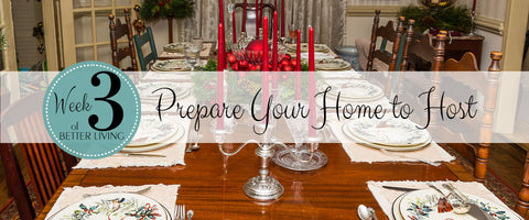 Prepare Your Home for Holiday Hosting