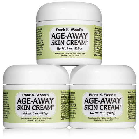 Frank K. Wood's Age-Away Skin Cream<sup>®</sup> 3 - Jar