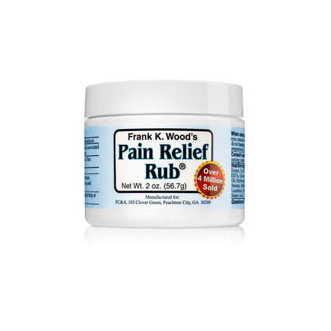 Frank K. Wood's Pain Relief Rub<sup>®</sup> - 1 Jar