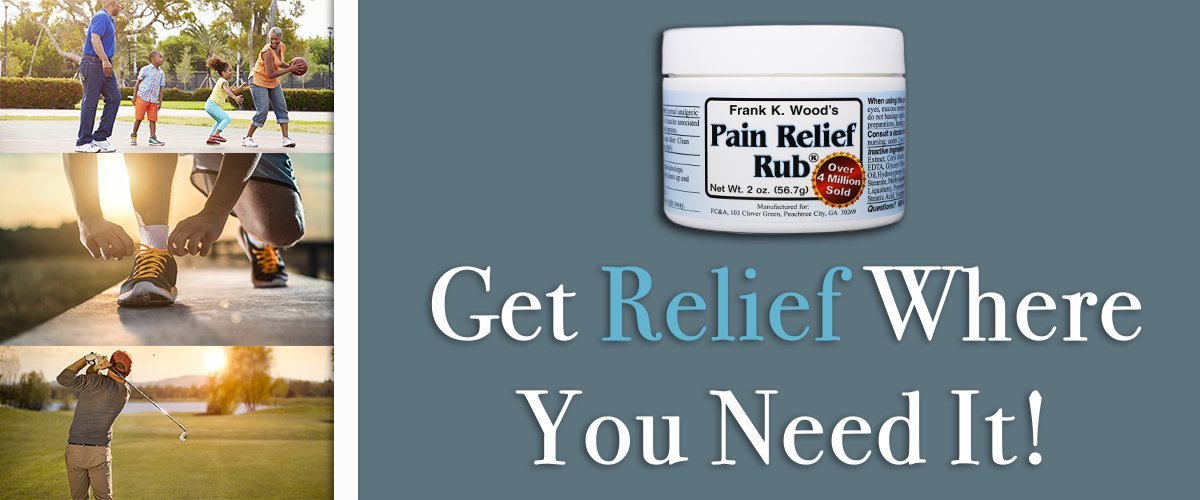 Frank K. Wood's Pain Relief Rub