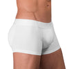 Rounderbum New Basic Padded Boxer Trunk 3 Pack VALUE PACK: 3 undies & 1 set of pads - Boxer Trunk - Rounderbum Shark Tank Men Shapewear and Underwear