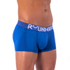 Rounderbum MYKONOS BLUE Padded Trunk - Boxer Trunk - Rounderbum Shark Tank Men Shapewear and Underwear