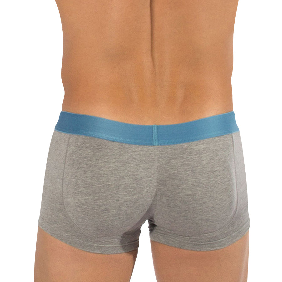 76e3e789e0 Rounderbum Heather Padded Boxer Trunk - Men's Shapewear - Boxer Trunk - Rounderbum  Shark Tank Men