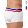 USA Special Edition Lift Trunk 3Pack - Men's Shapewear - Boxer Trunk - Rounderbum Shark Tank Men Shapewear and Underwear