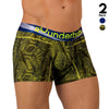 Rounderbum Offbeat Package Lift 2Pack - Men's Shapewear - Boxer Brief - Rounderbum Shark Tank Men Shapewear and Underwear