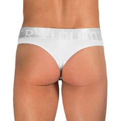 Rounderbum Basic Silver Thong - Men's Shapewear - Thong - Rounderbum Shark Tank Men Shapewear and Underwear