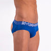 Rounderbum MYKONOS BLUE Lift Jock Brief - Jock Brief - Rounderbum Shark Tank Men Shapewear and Underwear