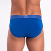 Rounderbum MYKONOS BLUE Padded Brief - Boxer Brief - Rounderbum Shark Tank Men Shapewear and Underwear