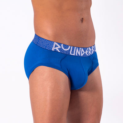 Rounderbum MYKONOS BLUE Lift Brief - Brief - Rounderbum Shark Tank Men Shapewear and Underwear