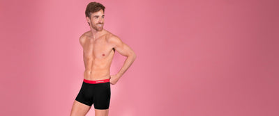 Rounderwear Boxer Brief Essentials - Boxer Brief - Rounderbum Shark Tank Men Shapewear and Underwear