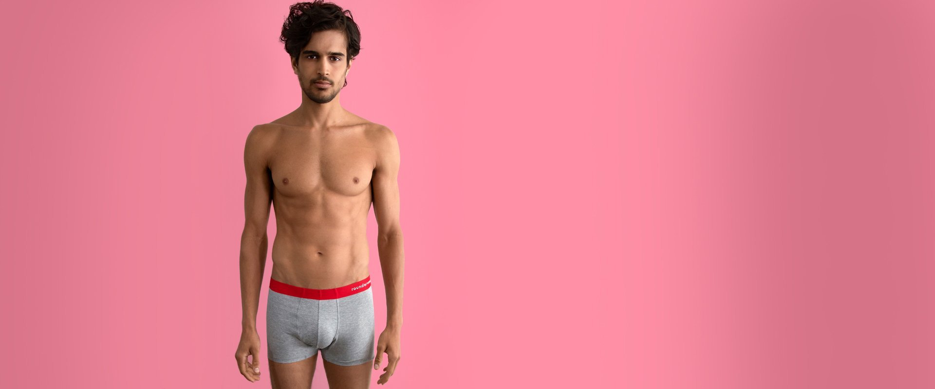 Rounderwear Boxer Trunk Essentials - Boxer Trunk - Rounderbum Shark Tank Men Shapewear and Underwear