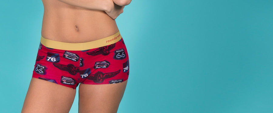 Rounderwear Mini Boxer Fashion - Mini Boxer - Rounderbum Shark Tank Men Shapewear and Underwear