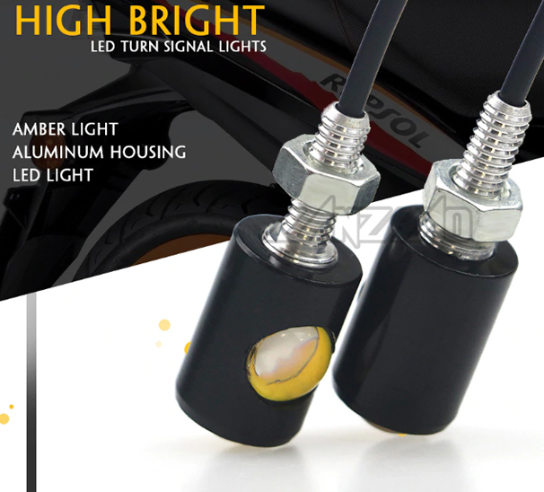 Dual Lense LED Blinker Bullet Mini *BRIGHT*