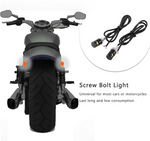 LED Licence plate light *small & bright* DRL Harley