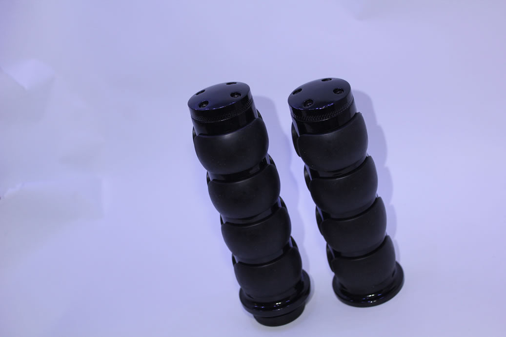 "Handgrips Black for 1"" 25mm bars"
