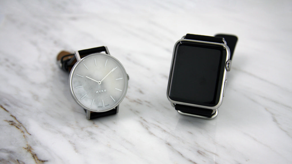 Traditional watch is better than smart watch.