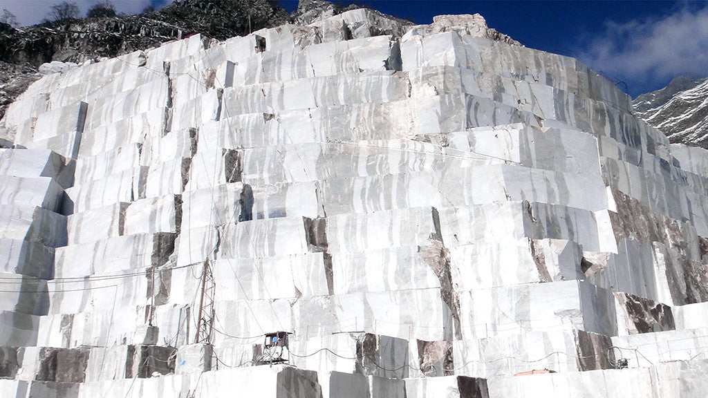 The Origin of Carrara Marble