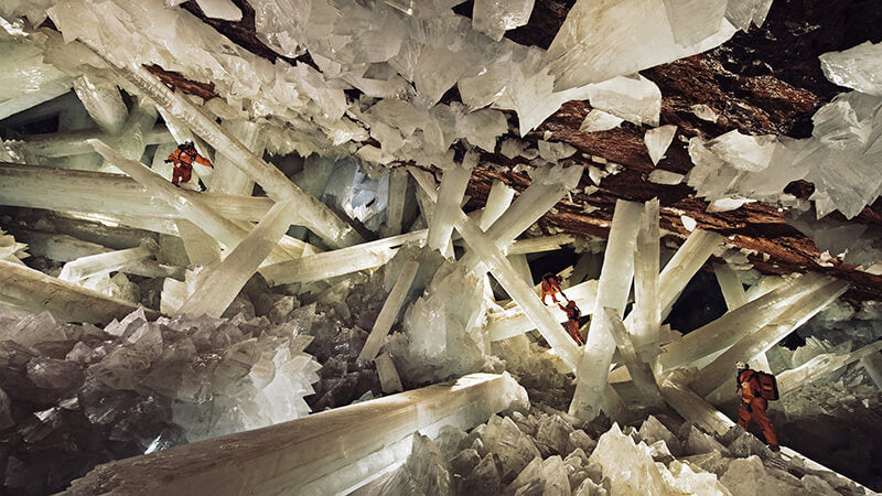 The Cave of the Crystals, Naica, Mexico