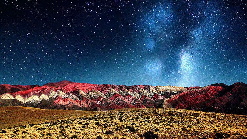 HORNOCAL MOUNTAINS, ARGENTINA