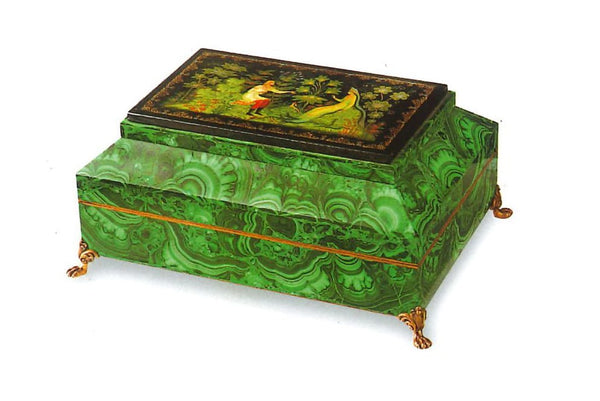 Malachite Jewellery Box