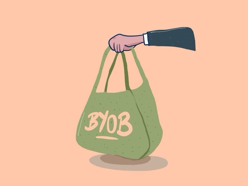 MYKU 2020 resolutions Bring your own bag