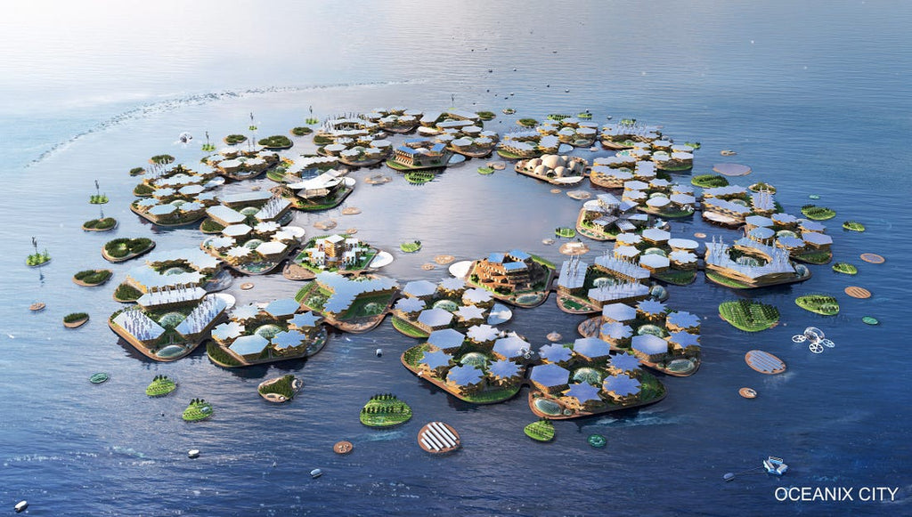 Life Under Water Floating City