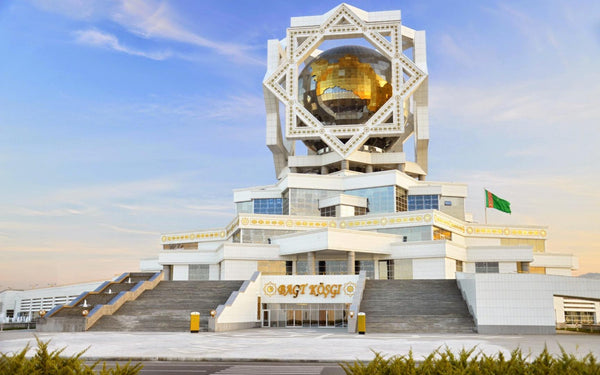 6) The City of White Marble Ashgabat Turkmenistan