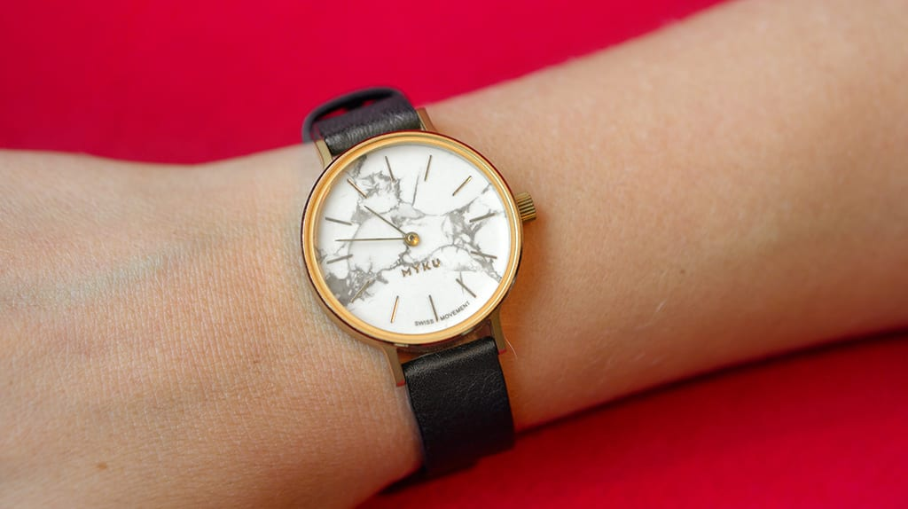 MYKU Howlite Julia Watch