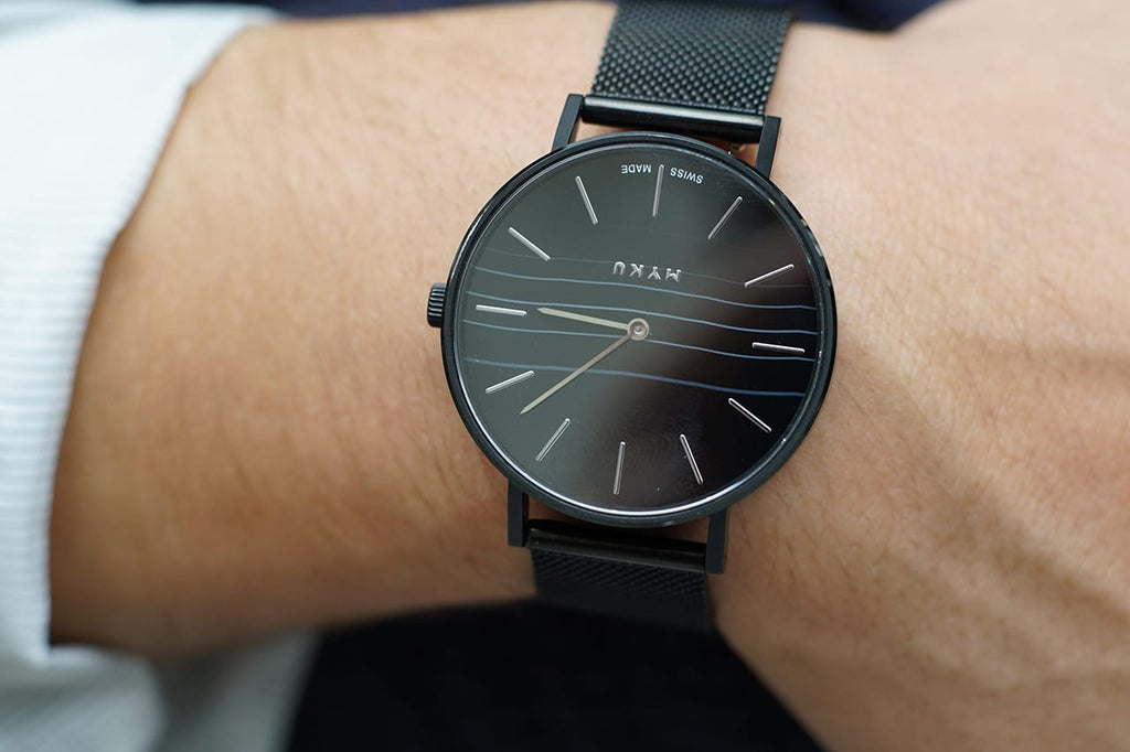 MYKU Black Onyx Watch Louis Mathieu Chon