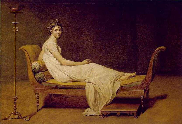 Portrait of Madame Récamier Jacques-Louis David, 1800
