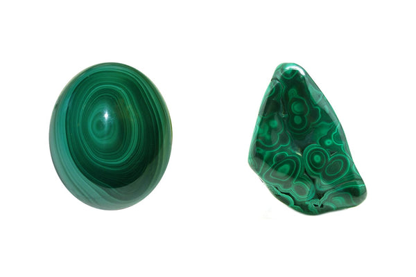 Malachite Egg and Pillow