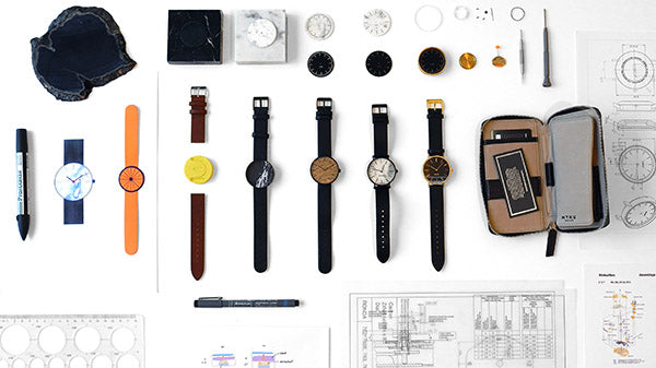 MYKU, watch, process, design, ideation, timepiece