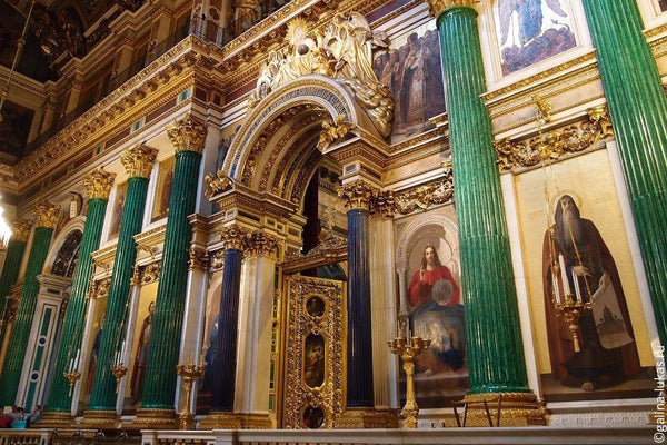 St. Isaac Catherdral Malachite