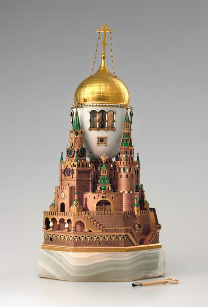 The World of Fabergé -  Moscow Kremlin egg