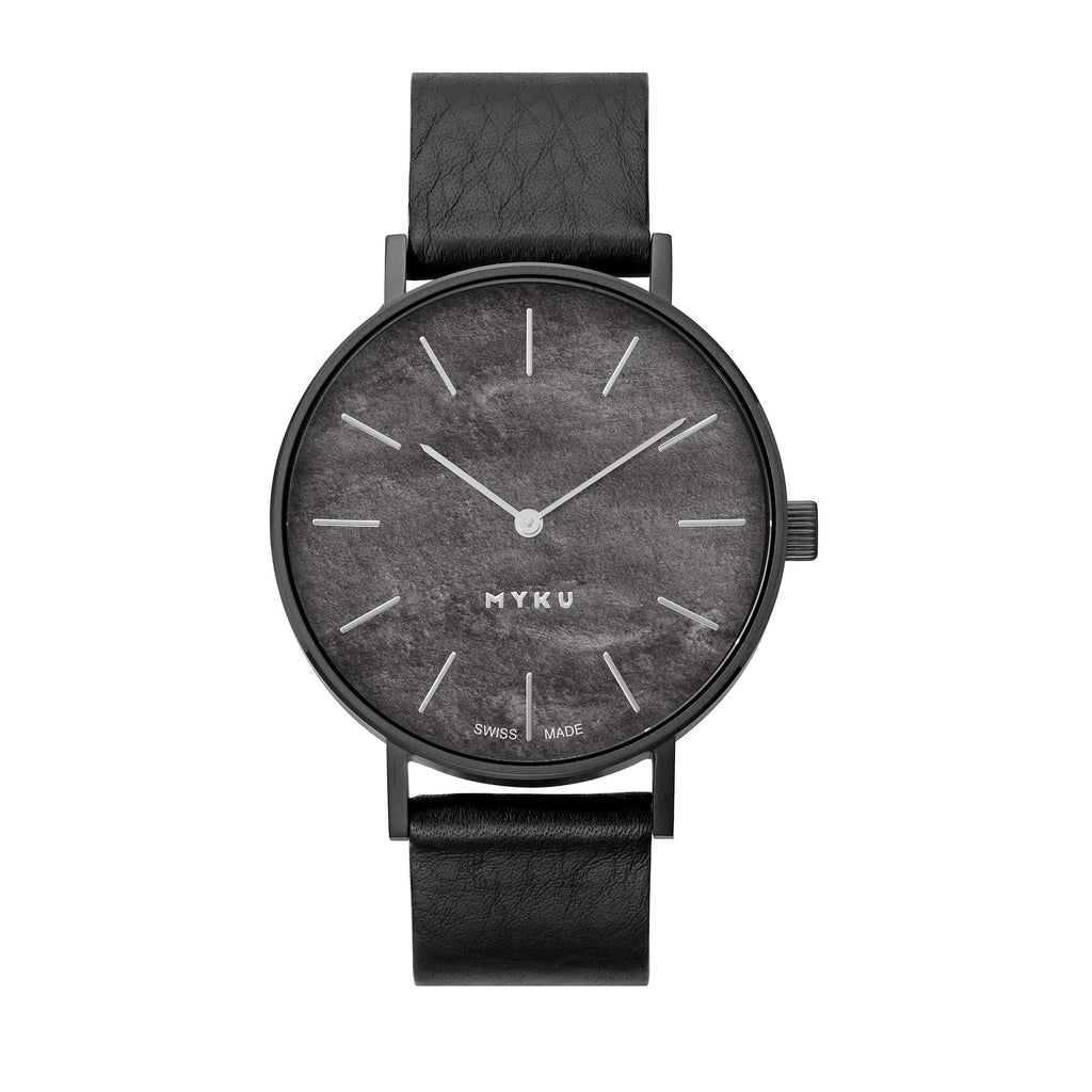 MYKU Watch - Obsidian Space Black 006