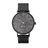 MYKU Obsidian Gun Metal Watch