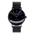 MYKU Black Onyx Space Black 38mm Watch