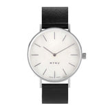 MYKU White Marble Stainless Steel 38mm Watch