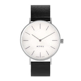 MYKU White Marble Stainless Steel Watch