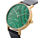 MYKU Watch - Malachite Gold Hero - slider