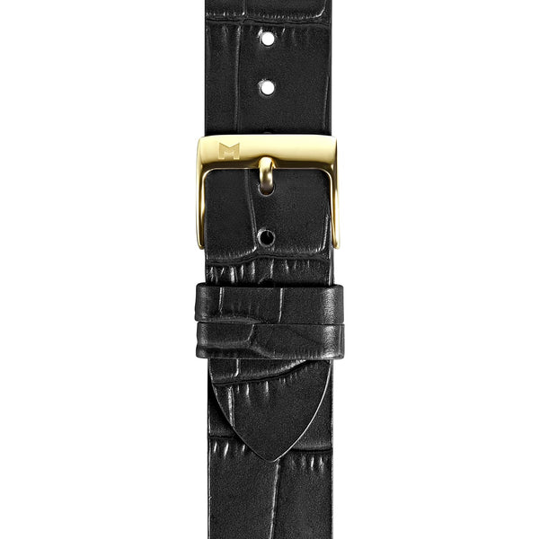 MYKU Croco Grain Premium Leather Strap