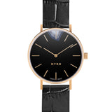 MYKU Black Onyx Gold 38mm Watch