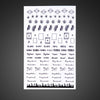 Sticker Nailart F-463