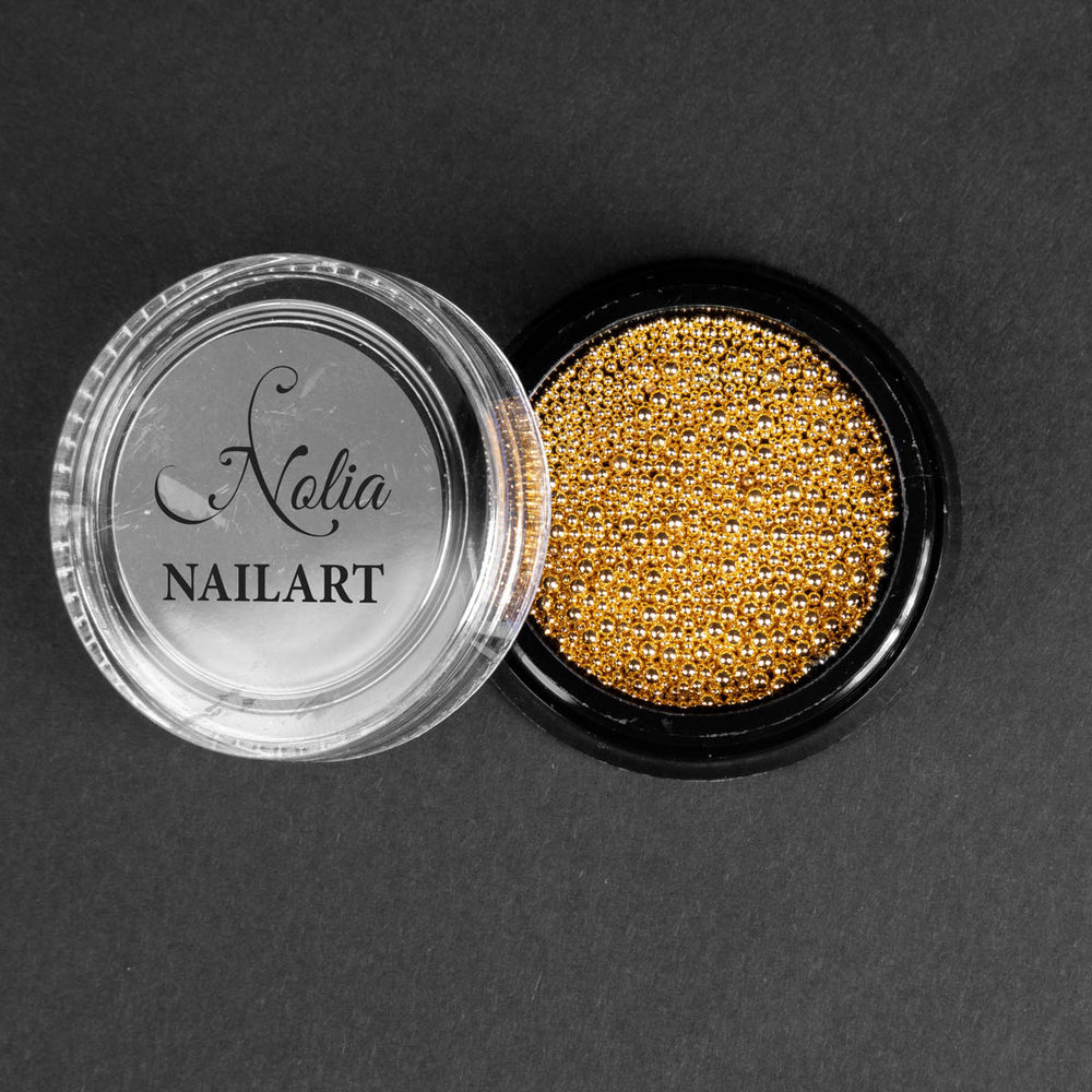 Caviar metalic GOLD - POT MIX