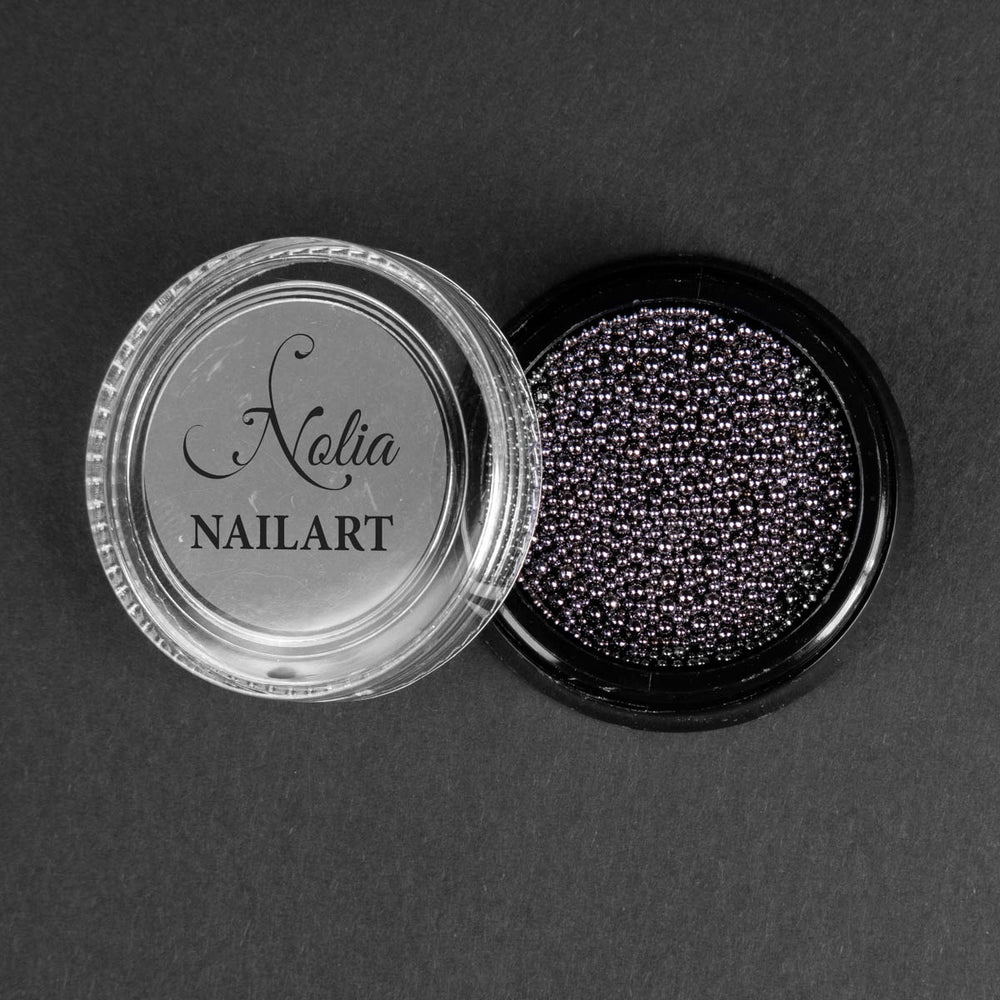 Caviar metalic GREY - POT MIX