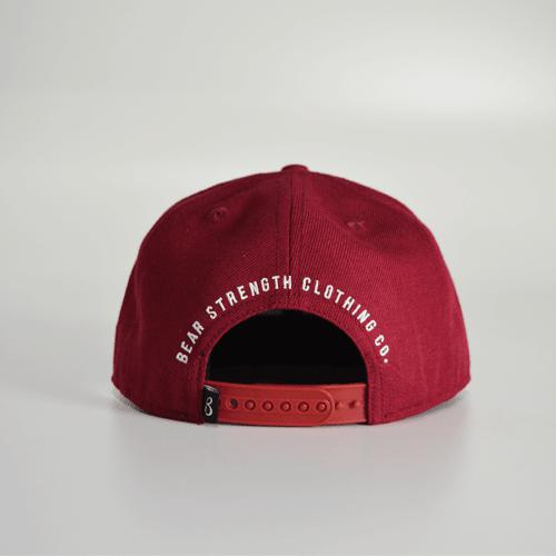 Bear Strength | Signature Cap | Maroon