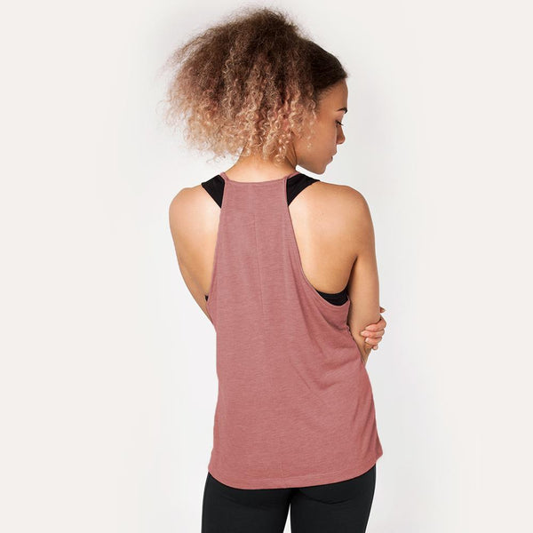 Icon | Women's High Neck Training Tank | Mauve
